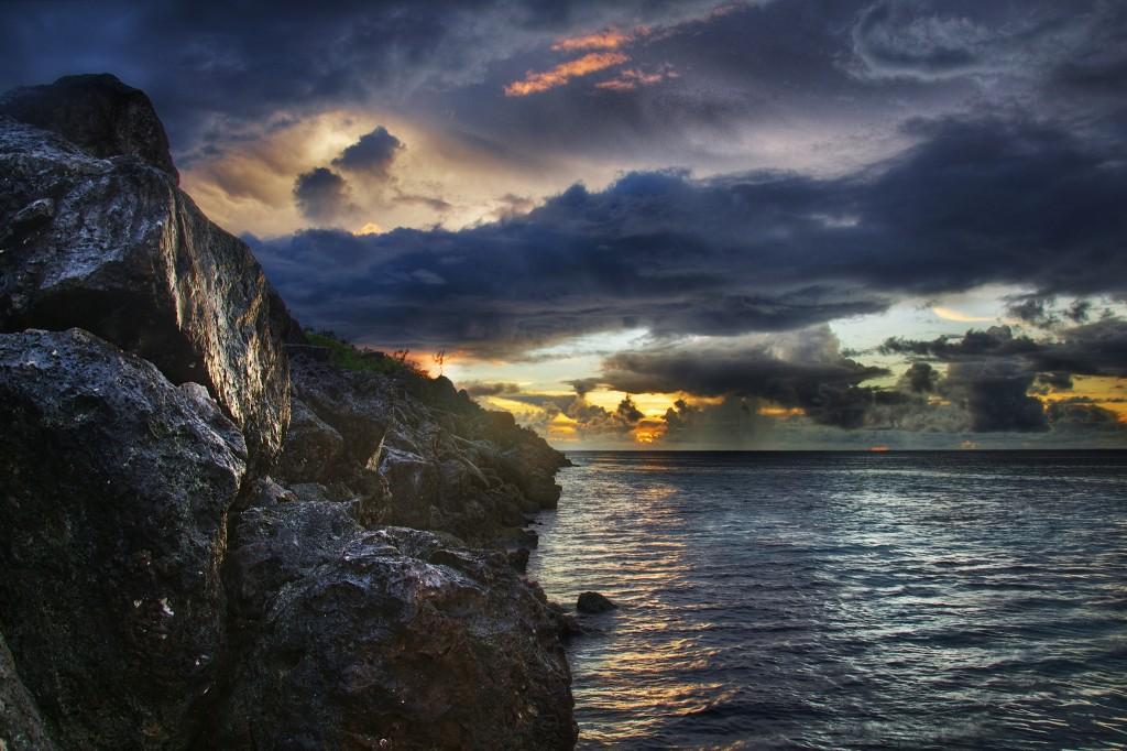 Breakwater Sunset
