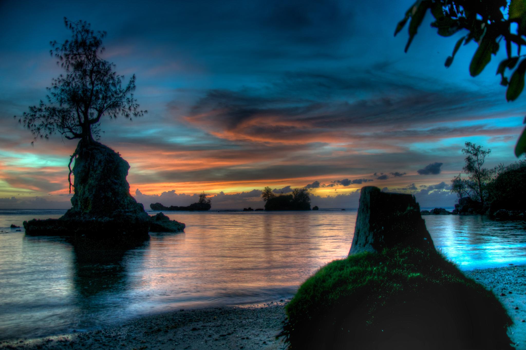 Apaca Point at Twilight