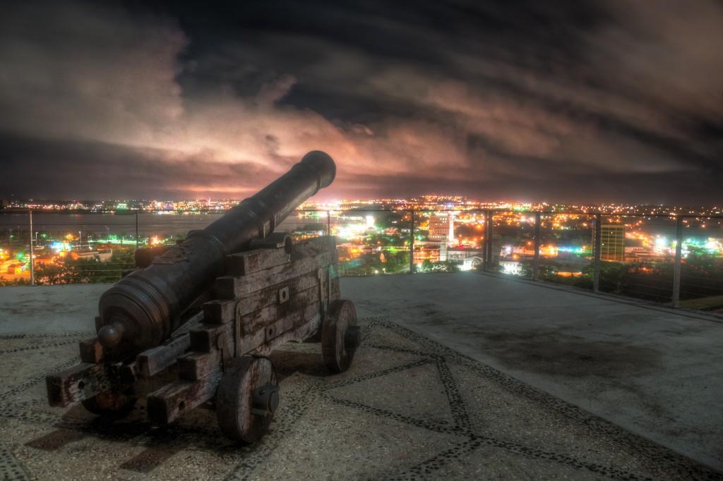 Fort Apugan at Night