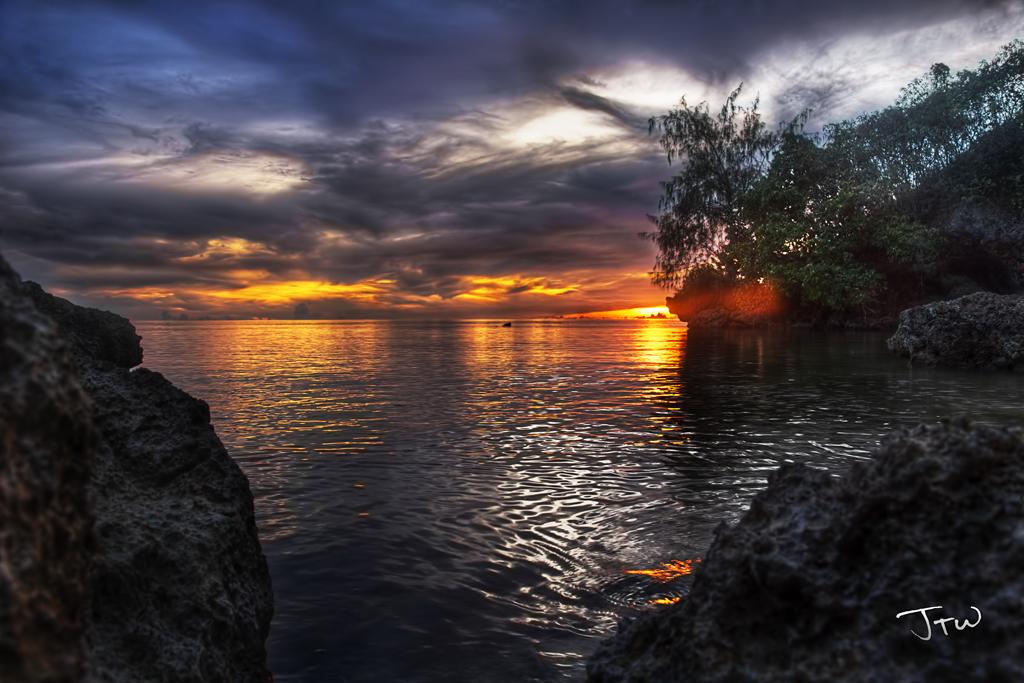 Rizal Beach Sunset