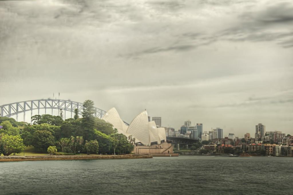 Sydney Harbor, Original Processing