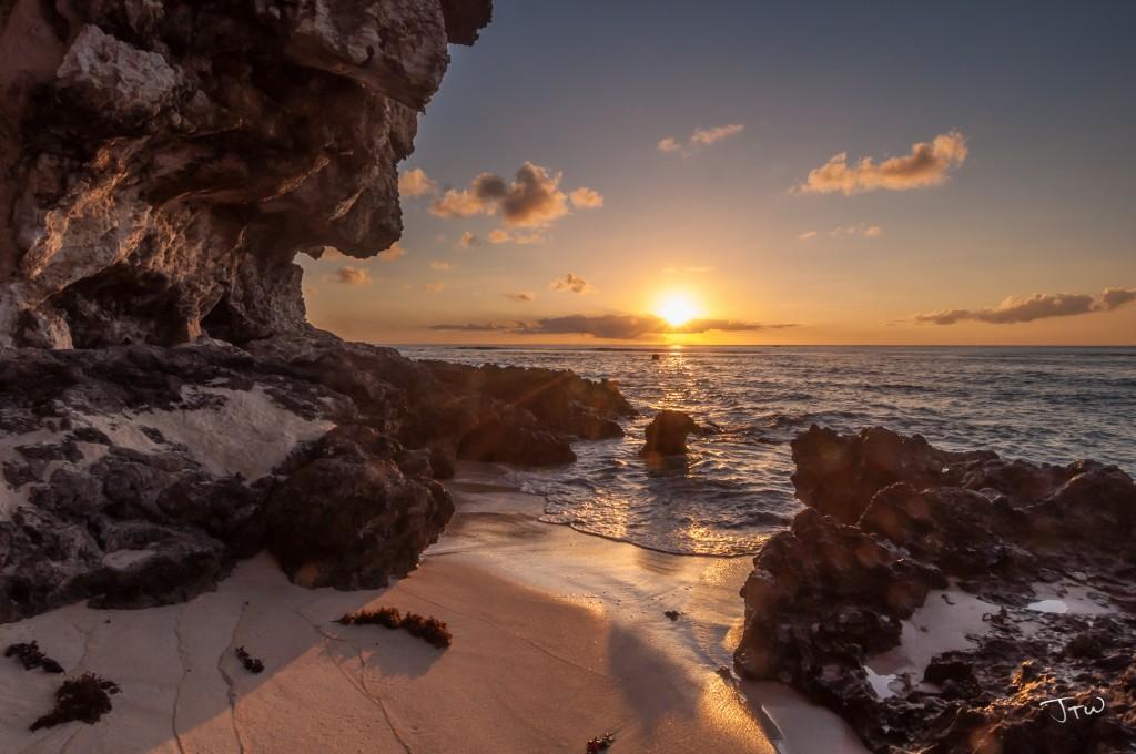 Tanguisson Beach Sunset