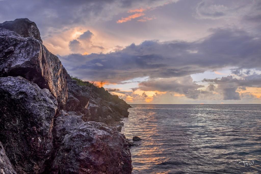 Breakwater Sunset, Reprocessed