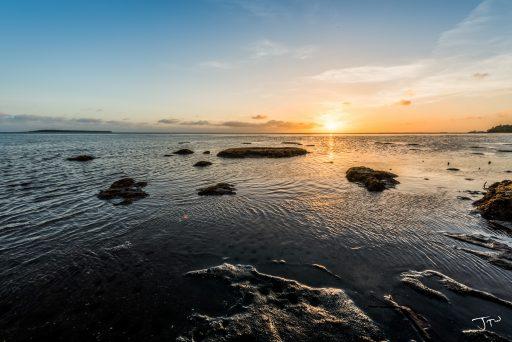 Pyga Beach Sunset